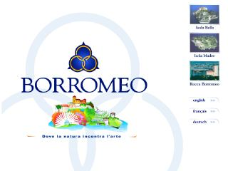 Thumbnail do site Borromeo Turismo