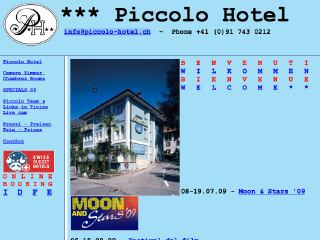 Thumbnail do site Piccolo Hotel ***