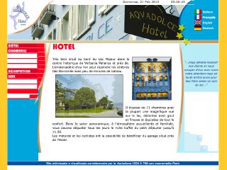 Thumbnail do site Hotel Aquadolce ***