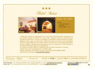 Thumbnail do site Hotel Intra ***