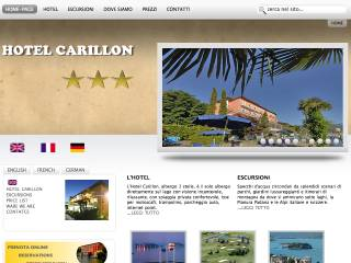 Thumbnail do site Hôtel Carillon ***