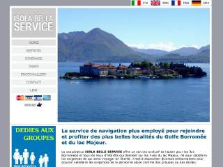 Thumbnail do site Isola Bella Service