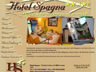Thumbnail do site Hotel  Spagna **