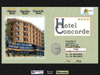 Thumbnail do site Hotel Concorde ****
